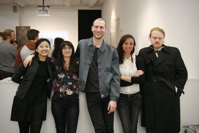 "Opening of ""BodyLandscapingTime"" at NGBK Berlin"