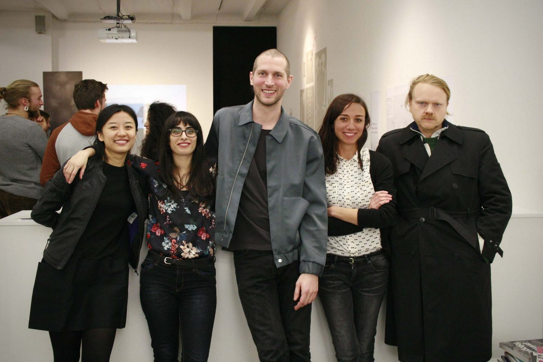 Maria de Sande, Gözde Güngör, Hanwen Zhang, Janos Brückner, Carsten Lisecki, Kunst im Kontext, NGBK Berlin, Body landscaping time