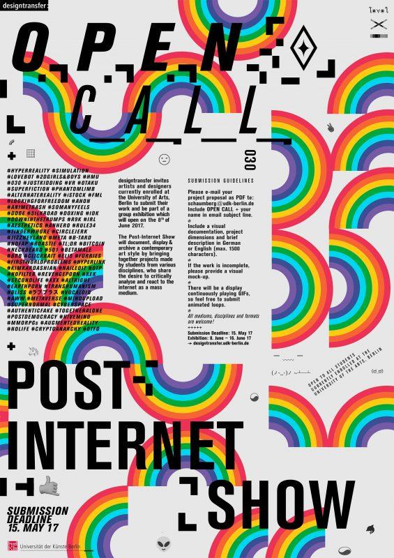 Open Call Post Internet Show Institut Für Kunst Im Kontext