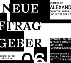 Alexander Koch – Neue Auftraggeber