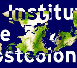 To Institute the Postcolonial