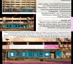 """Plakatausstellung """"Unter Druck gesetzt: Daten und Statements struktureller Ausgrenzungen"""""""