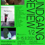 """RUNDGANG PREVIEW: Masterarbeiten im postgradualen Studiengang """"Art in Context"""" 2019/2021"""