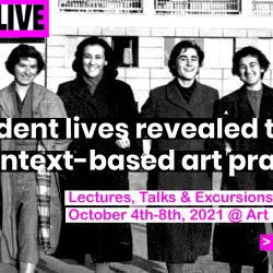 THEY:LIVE —  Student lives revealed through context based art practices